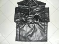 Коврик шумоизол. под рычаги КПП Dymos (в/кожа, поролон, ватин) улучшенный на УАЗ Хантер