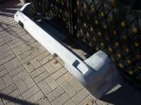 Силовой задний бампер (рестайлинговый) на УАЗ Патриот