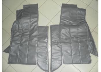 Коврики под сиденье(поролон, ватин) на УАЗ 452 к-т черные